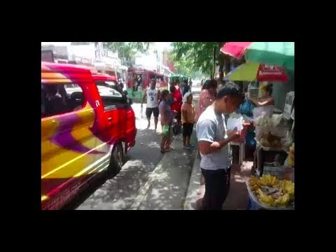 Philippines LIVE - Walk Around Cebu City, Capitol Site