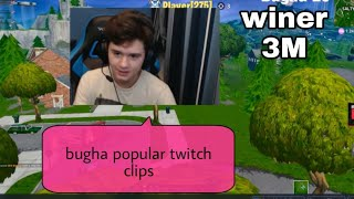 the most popular bugha twitch clips fortnite--bugah winer world cup