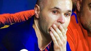 Despedida de Iniesta ltimo partido de Andres Iniesta con el Barcelona