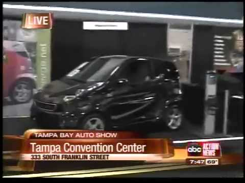 Electric Cars At The Tampa Bay Auto Show YouTube - Tampa convention center car show