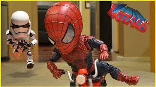 BABY SPIDERMAN & The STORMTROOPER Stop MotionTrailer