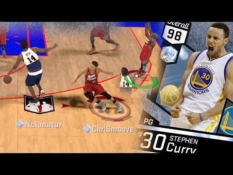 NBA 2K17 My Team - Diamond Stephen Curry Got Crossed! PS4 Pro 4K