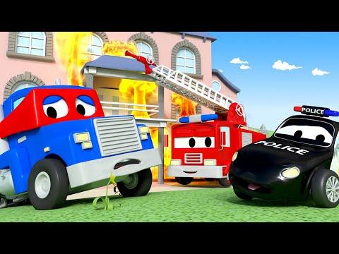 Supertruck needs help - A Super Patrulha na Cidade do Carro  Desenhos animados para crianças