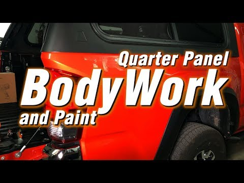 Quarter Panel Body Work and Paint Update | Q&A 8:30-PM CST TONIGHT