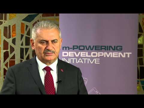 Binali Yıldırım, m-Powering Development Initiative Advisory Board Member - Interview