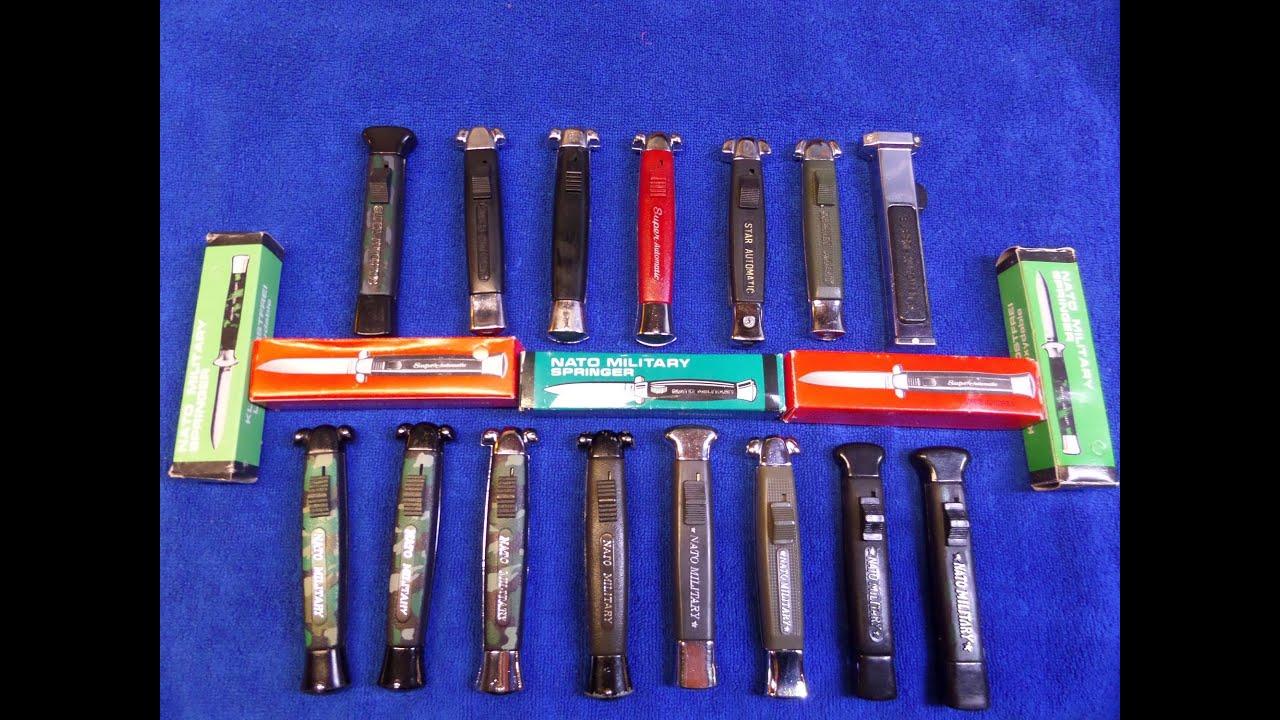 Super Automatic & Nato Military Knives - Retro Knives (JW's BulletsNBlades)