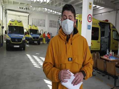 Un trabajador ambulancias nos cuenta el procedimiento de una prueba de Covid 19 en el hospital