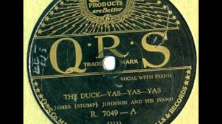"Stump Johnson, ""The Duck Yas Yas Yas"" 1929 Original"