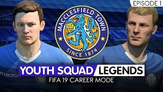FIFA 19 CAREER MODE (Ep 1) | Macclesfield RTG | Youth Academy [YOUTH SQUAD LEGENDS] - BRING IT ON!