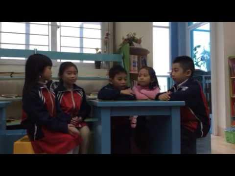 Thảo luận nhóm HS tiểu học Thịnh Liệt