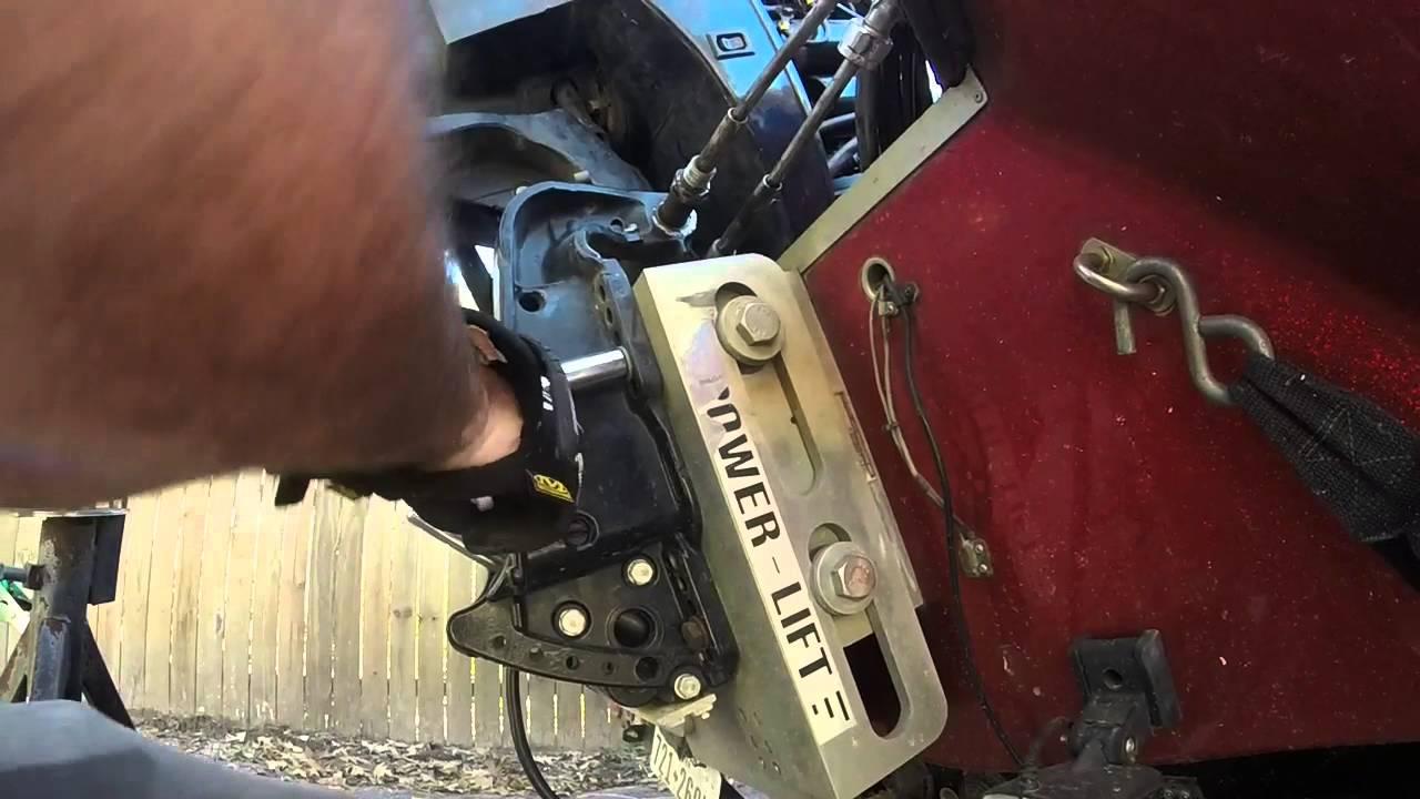 small resolution of mercury black max trim motor repair
