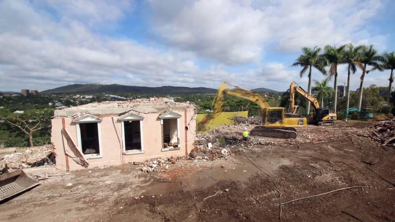"Jayne Mansfield House abyss demolition - the ""pink palace"" st lucia - youtube"