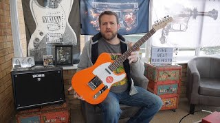 Squier Affinity Telecaster Competition Orange - Review Demo