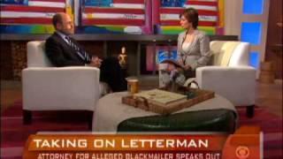 Taking on David Letterman