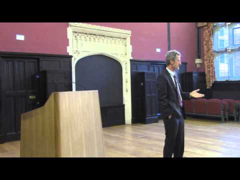 Georg Kell: Sustainable Revolution through Finance at Cambridge Pt. 1