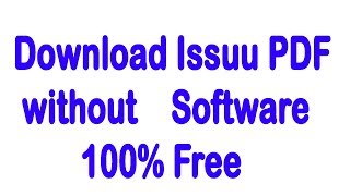 Gambar cover Issuu PDF Downloader | Download Issuu PDF without Software | PDF Downloader
