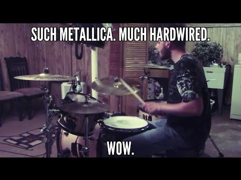 SallyDrumz - Metallica - Hardwired Drum Cover