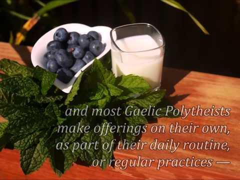 Offerings In Gaelic Polytheism