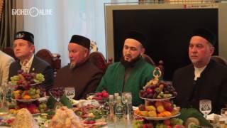 Камиль хазрат прочитал проповедь на ифтаре у Фатиха Сибагатуллина