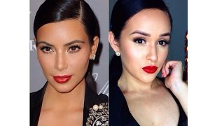 Maquillaje y Peinado para Navidad inspirado en (Kim Kardashian) Thumbnail