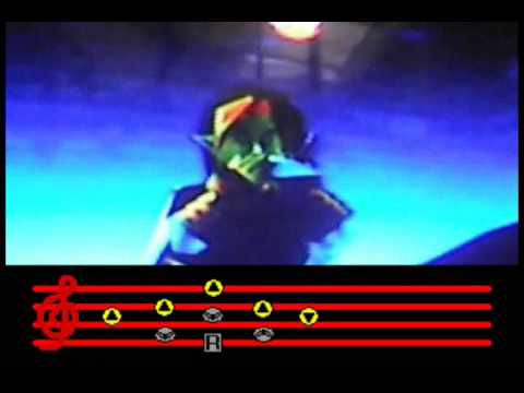 How to play the eight melodies from Mother 1 and 2 in The Legend of Zelda: Ocarina of Time