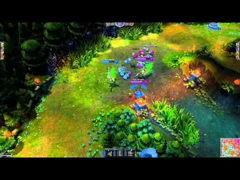 League of Legends: Man Fight: Xin Zhao vs Jarvan IV