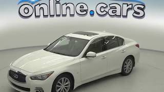 oA97213NA Used 2015 Infiniti Q50 White Sedan Test Drive, Review, For Sale