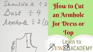 Wie Schneiden Armloch für Ihr Top oder Kleid | Schnell zu Nähen-Tipps #1 | LTS-Akademie