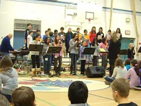Count on Me, Maple Creek Middle School Choir 2011