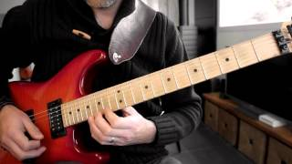 """This is how i play """"Eyes of a stranger"""" from Queensrÿche's """"Operati..."""