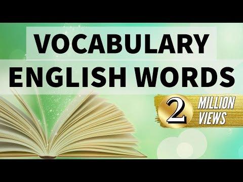 Synonyms & Antonyms - English Vocabulary