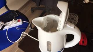 How to make delicious soft boiled eggs in Philips electric kettle PART 02