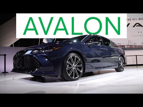 2018 Detroit Auto Show: 2019 Toyota Avalon Goes High Tech | Consumer Reports