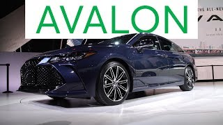 2018 Detroit Auto Show 2019 Toyota Avalon Goes High Tech  Consumer Reports