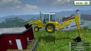 Repeat youtube video Farming Simulator 13 JCB 3 CX landwirtschafts simulator