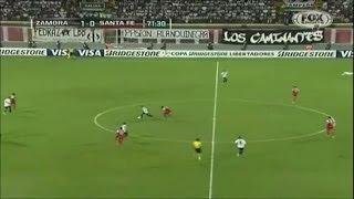 Zamora 2 - 1 Independiente Santa Fe Copa Libertadores 2014
