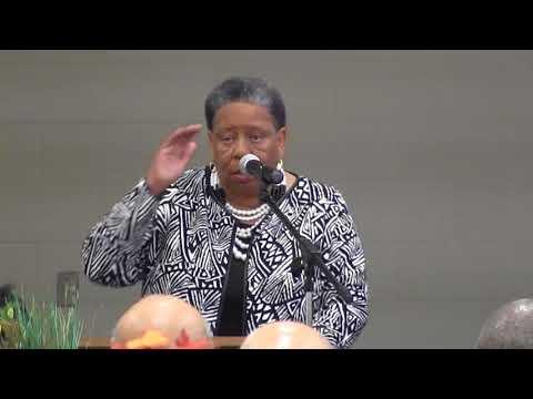 Joanne Bland speaks at MLK Jr Breakfast