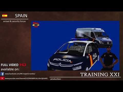 Cuerpo Nacional de Policía Español / Spanish National Police Corps - ARMA 3 Machinima