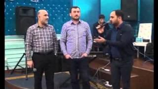 Meyxana 2015 Mehman Ehmedlinin ad gunu 1.Elshen Xezer - Akshin Fateh Vasif