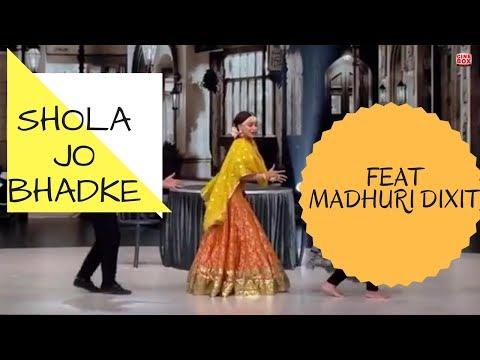 Madhuri Dixit dances on Shola Jo Bhadke