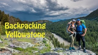 Backpacking Yellowstone National Park