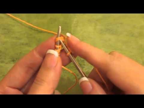 Belajar Knitting - K2Tog