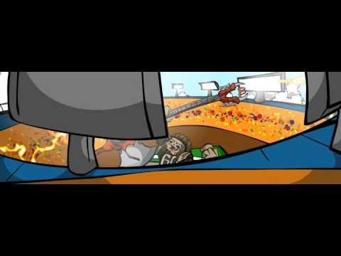 Denver Broncos vs Cleveland Browns mascot battle