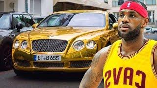 САМЫЕ КРУТЫЕ АВТОМОБИЛИ ЗВЁЗД НБА!