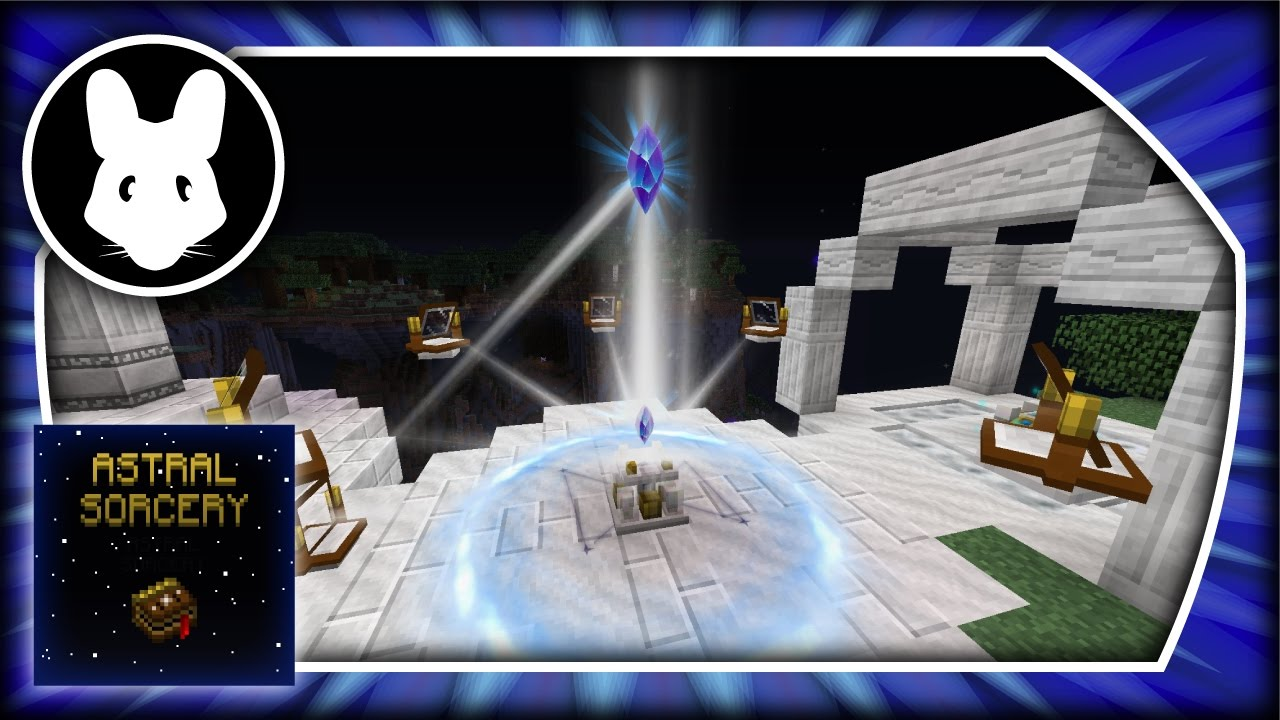 Astral Sorcery: Ritual Pedestal! Bit-by-Bit Part 5 - Minecraft 1.10.2
