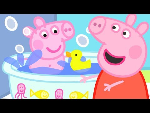Peppa Pig Official Channel   Baby Alexander's Bath Time with Peppa Pig!
