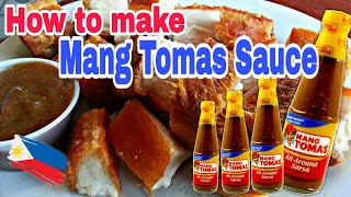 How to make Mang Tomas Sauce | Lechon Sauce | Fast and Easy