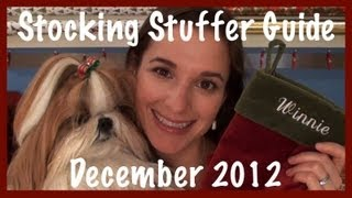 Winnie's 2012 Stocking Stuffer Guide