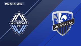 Video Gol Pertandingan Vancouver Whitecaps vs Montreal Impact