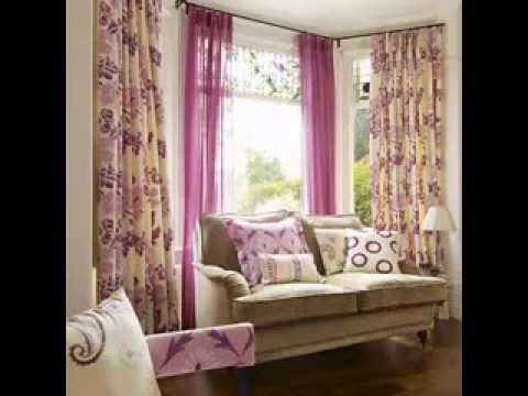 Living room curtain designs ideas - YouTube